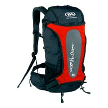 TSL Outdoor Snowalker 15L backpack black red