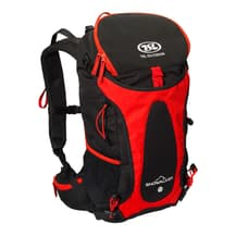 TSL Outdoor Snowalker 25L Backpack Black Red