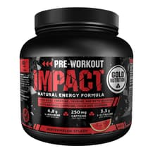 Pre-Workout Impact Gold Nutrition gusto anguria 400 gr