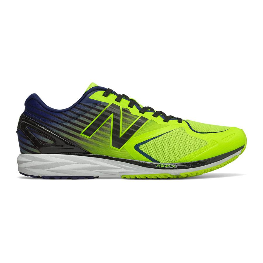 oficial Canberra Novio  New Balance Strobe v2 Shoes Yellow Dark Blue Fluorine | Deporvillage
